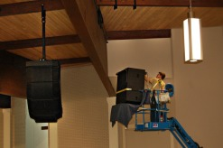 Polar Focus rigging for Bose Roommatch