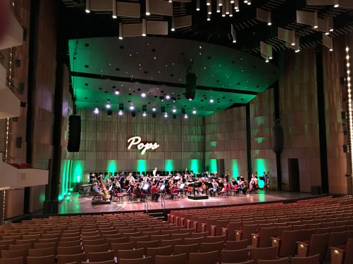 Orchestra Shell Southam Hall V Series array